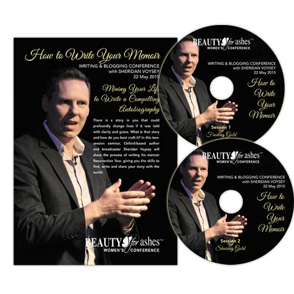 Writing & Blogging Seminar with Sheridan Voysey. Set 2 CDs. Prices to be announced shortly.
