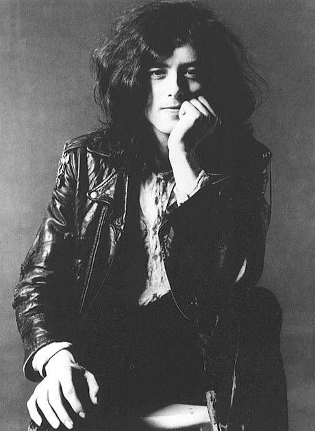 Jimmy Page, the ultimate cool guitarist with mucho style