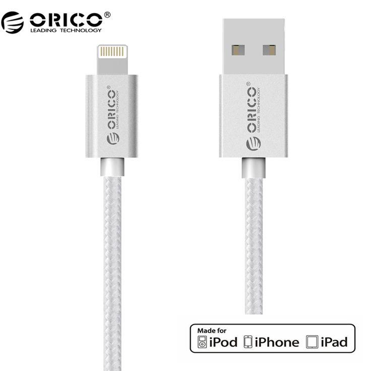 ORICO IDC 10 МФО Сертификации 3.3Ft. сильный Нейлон Плетеный Молния Зарядный Кабель Данных с МФО для iphone, iPad купить на AliExpress