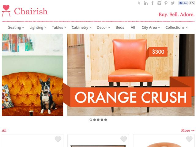 Stuff We Love: Chairish Is The Online Furniture Consignment Store Of Our  Dreams | The