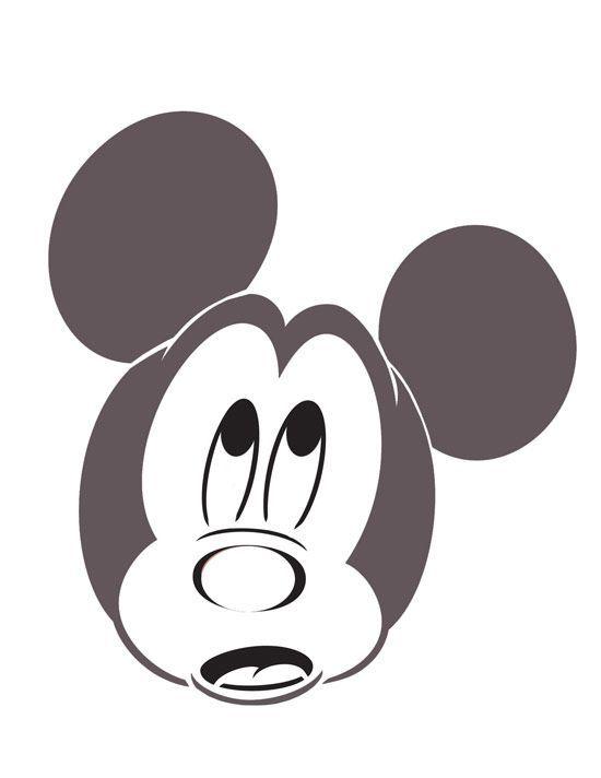 Mickey Pumpkin Stencils I Think I M Going To Do The Mickey Vampire