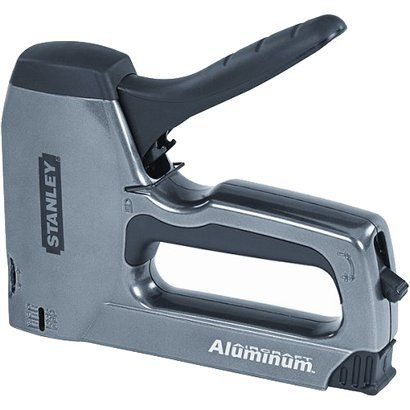 A staple gun is one of the craft & home tools I'm missing... Stanley Tools Staple/Brad Nail Gun