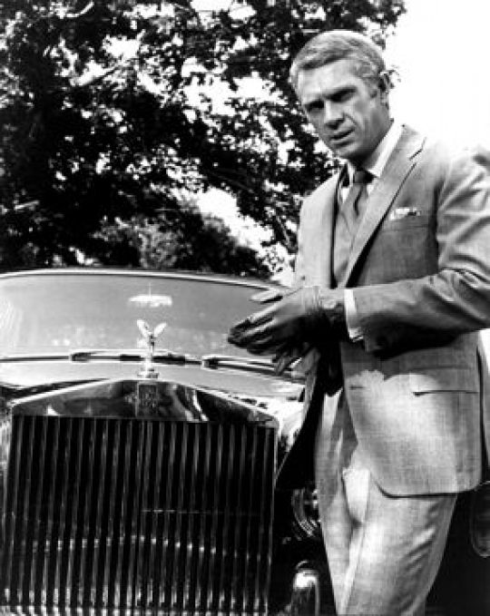 Steve mac Queen's Rolls Royce