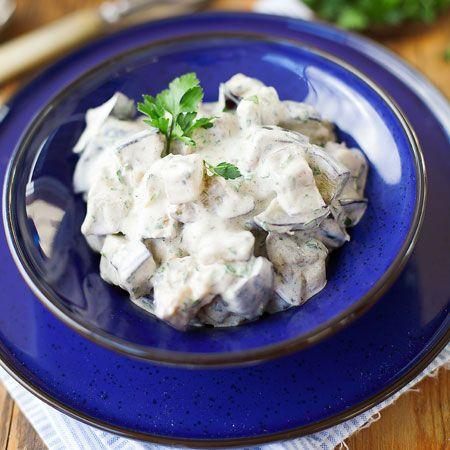 Egy könnyed nyári saláta: Joghurtos padlizsánsaláta