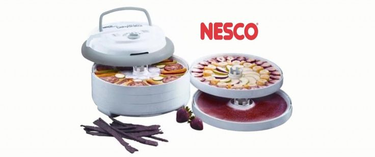 nesco professional food and jerky dehydrator manual