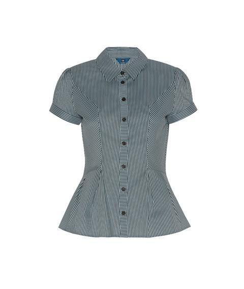 Pleat Hem Shirt by Cue