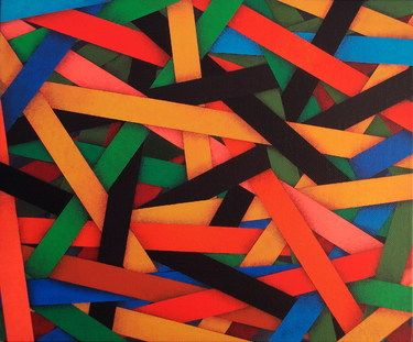"Saatchi Online Artist Luciano de Liberato; Painting, ""accumulation (2011)"" #art"