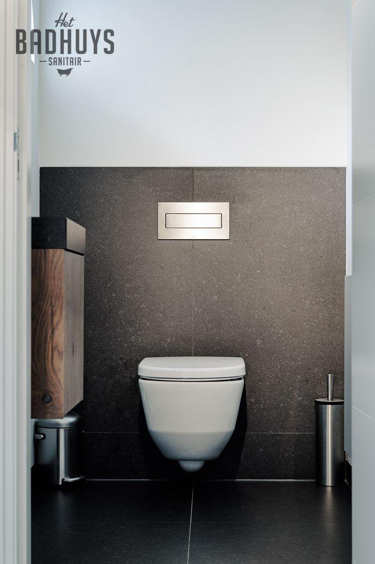 Smalle praktische badkamer en toilet met luxe uitstraling, Het Badhuys Breda   Het Badhuys