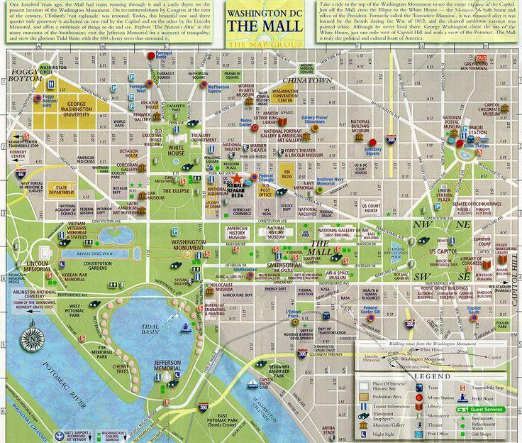 Best 25 Map of washington dc ideas on Pinterest  Washington dc