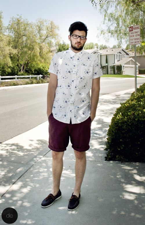 woven short sleeve button up from target. summer style. men's fashion. taylor martinez. www.dripcult.com