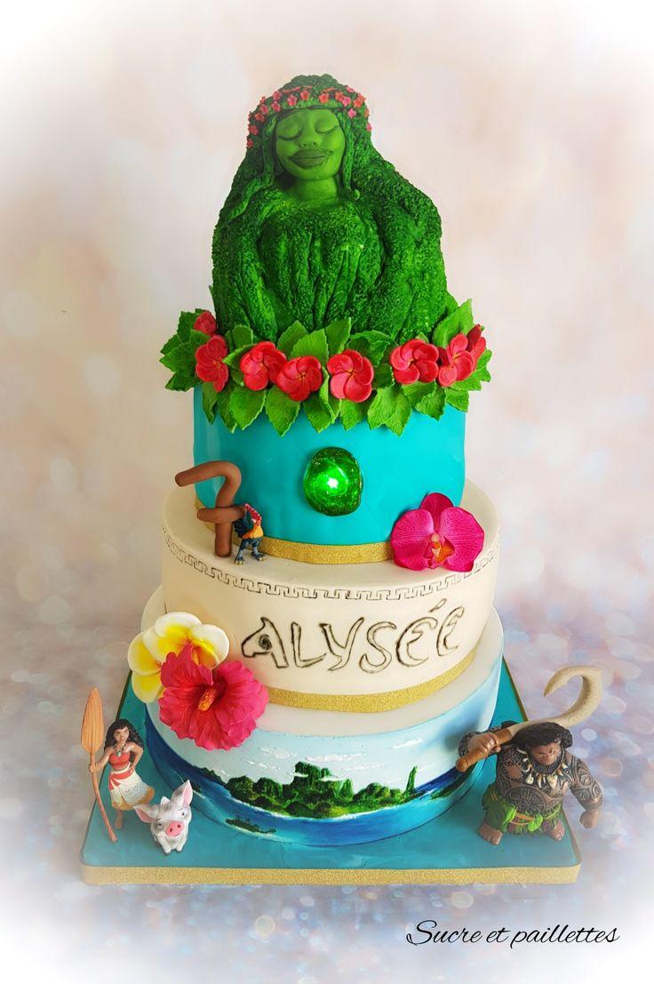 Cake Design Moana : Gateau Vaiana - Moana Cake Kindi s birthday ideas ...