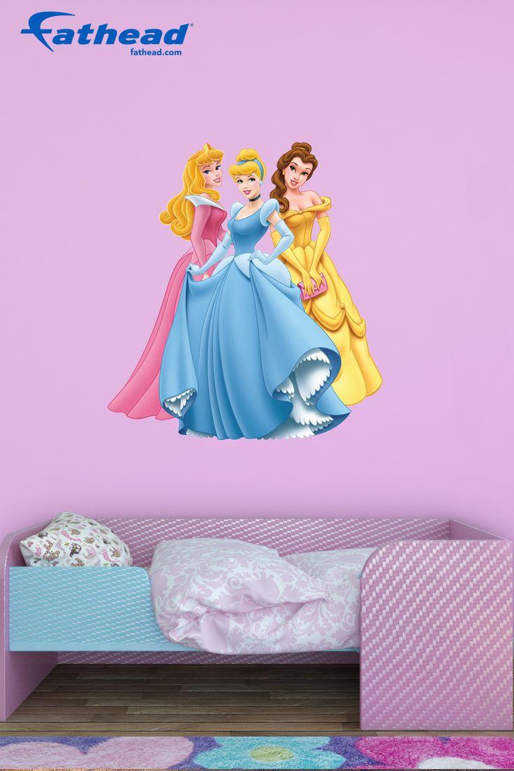 25 unique disney princess decals ideas on pinterest disney disney princess diy girls bedroom decor fathead wall decals are easy to put up amipublicfo Images