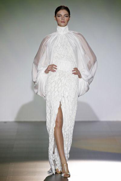 Vestidos de noiva com transparências 2016: efeito TATTOO Image: 28