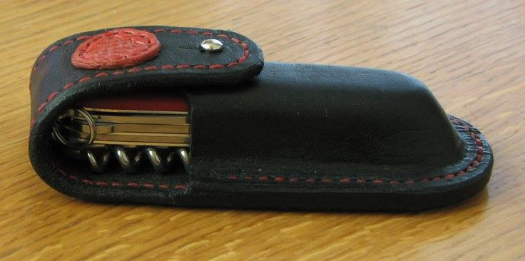 Leather sheath for Victorinox