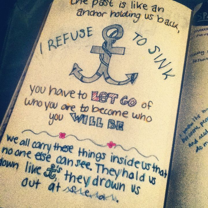 Anchor I Refuse To Sink Quotes. QuotesGram | Anchor quotes ...