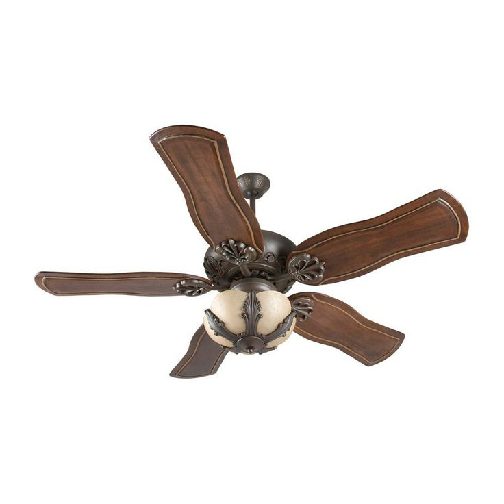 Craftmade Traditional Indoor Ceiling Fan In A Decorative Aged Bronze Finish    Available In Two Other