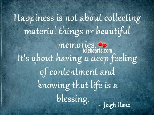 Essay on Happiness and Contentment