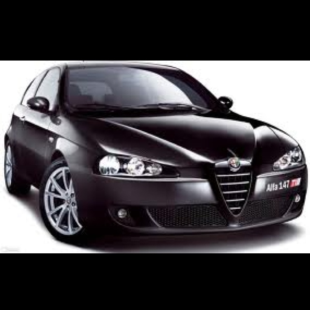 Alfa Romeo 147 - a beauty of a car.