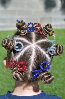 Princess Piggies: The Firework or great for Crazy Hair Day at School