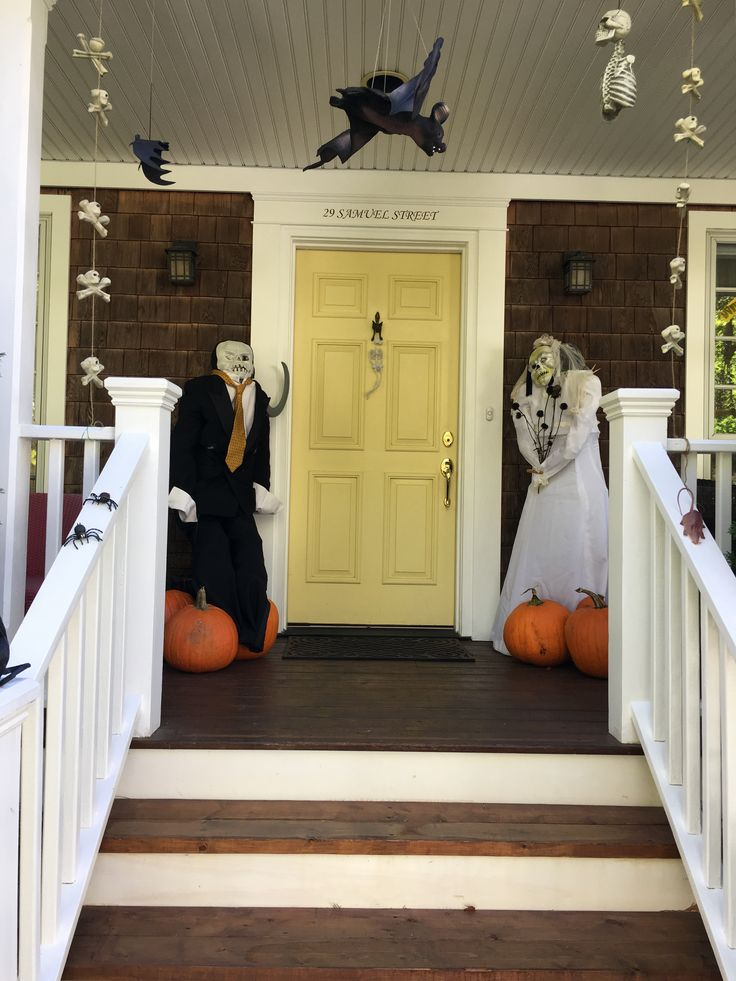 My neighbours love Halloween.