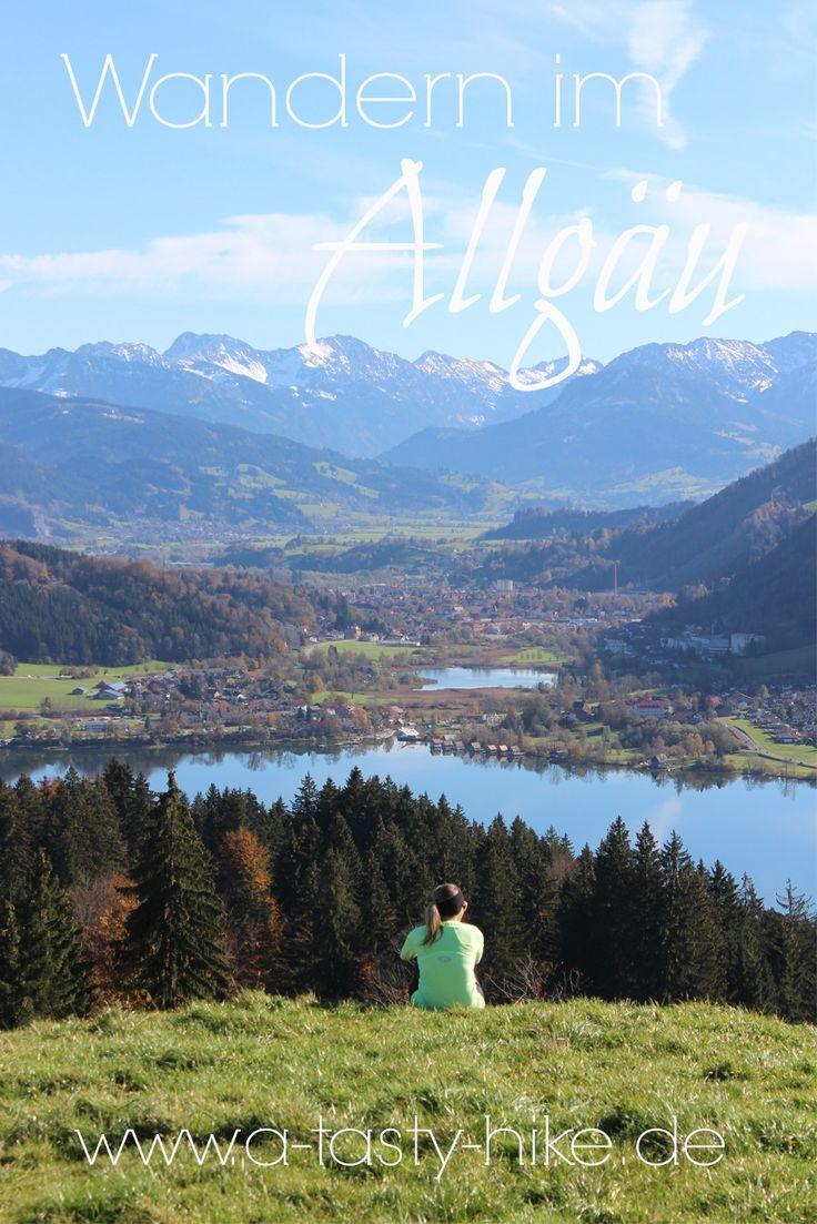 Wandern im Allgäu - die schönsten Wandertouren für Anfänger und Fortgeschrittene im Allgäu!  #Wandern #WandernfürAnfänger #Allgäu #Wanderrouten #WandernimAllgäu