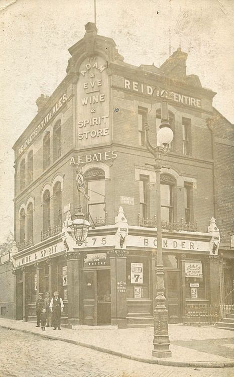 Adam and Eve Public House, 475 Liverpool Road, Islington, 1909, this is now a gastro pub, shame really