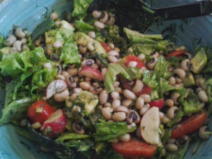 ONEIPA: salade de Mavromatika .