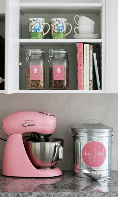 Adorable Pet Food Storage Ideas! IHeart Organizing