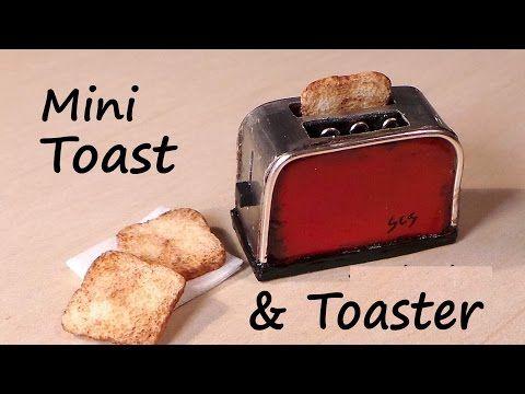 Creating Dollhouse Miniatures: Miniature Toaster & Toast Tutorial