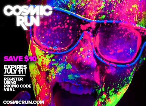 LAST CHANCE to sign up for the Cosmic Run for only $35! - Virginia Beach Day Life / Virginia Beach Nightlife