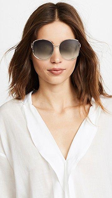 Gucci Urban Folk Oval Sunglasses