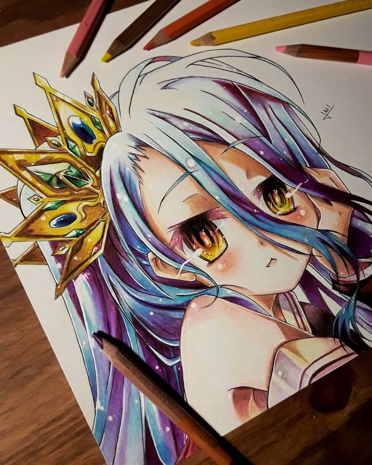 Pin by 宇盛 陳 on NGNL No game no life, Anime art fantasy