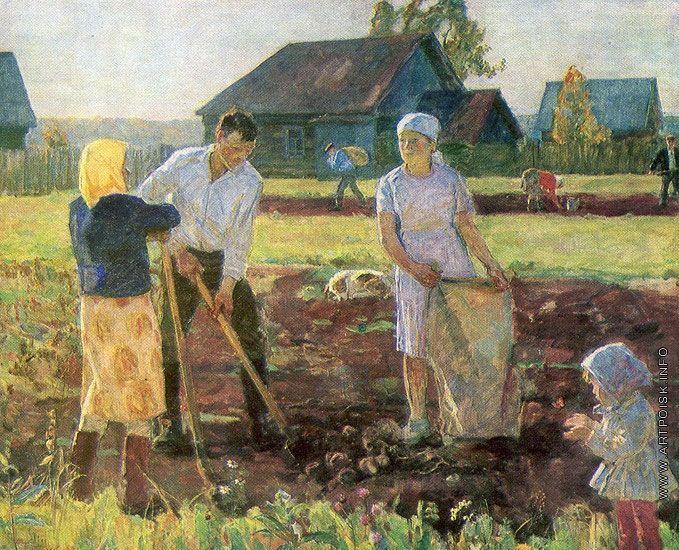 Новиков Николай Федорович [1922] Картошка.