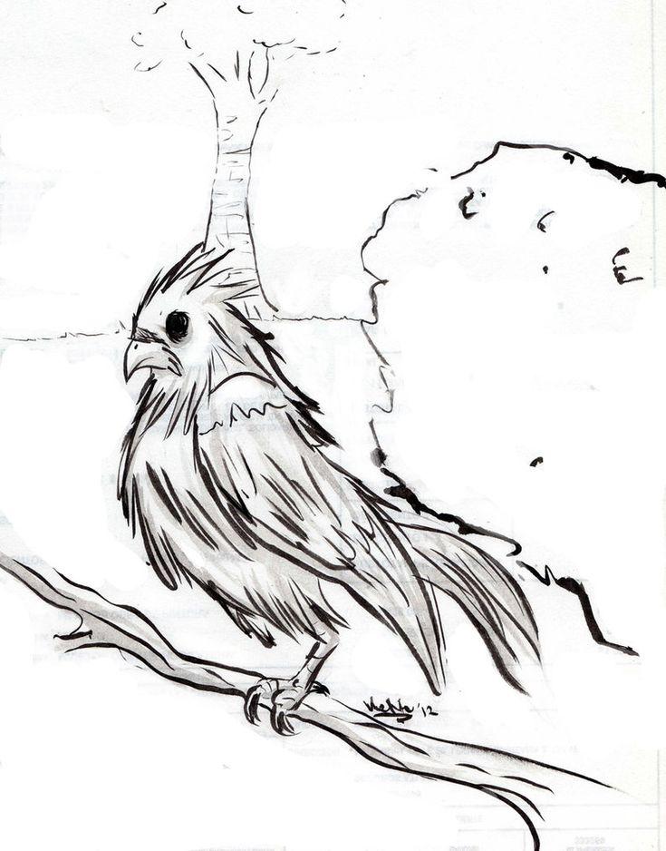 ovnis y fenomenos paranormales: El extraño pájaro del mal.(mitologia maya)