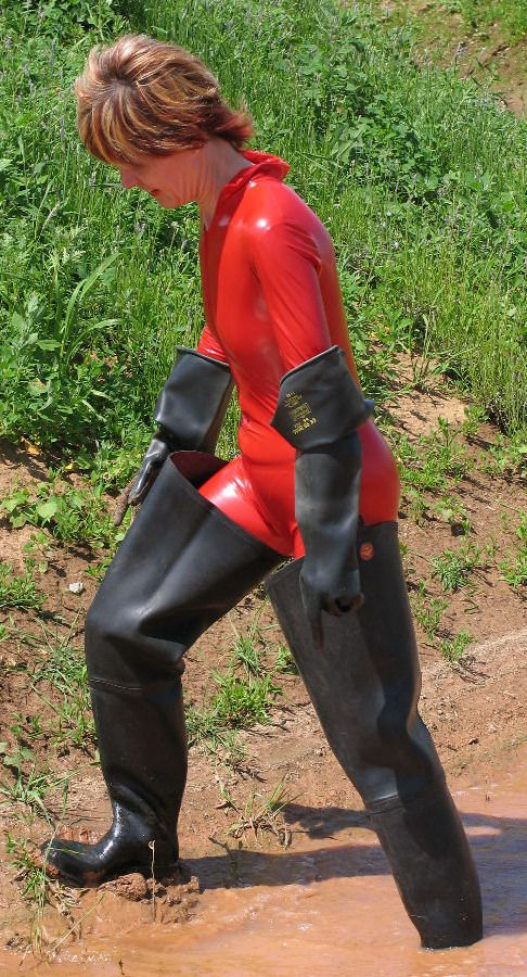 Waders And Rubber Gloves Things To Wear Pinterest