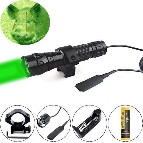 Ulako Green light LED Coyote Hog Pig Varmint Predator Hunting Light Flashlight with Remote Pressure Switch http://ift.tt/2jFY6as