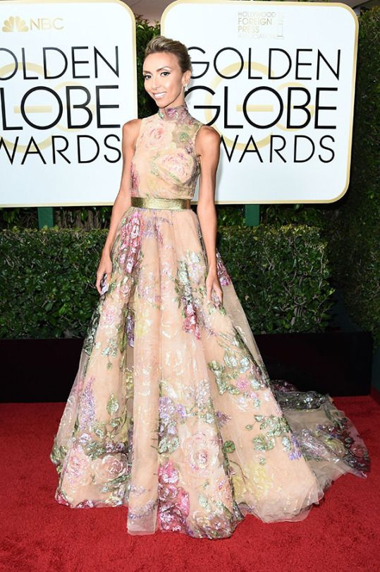 Giuliana Rancic  Golden Globe Awards 2017