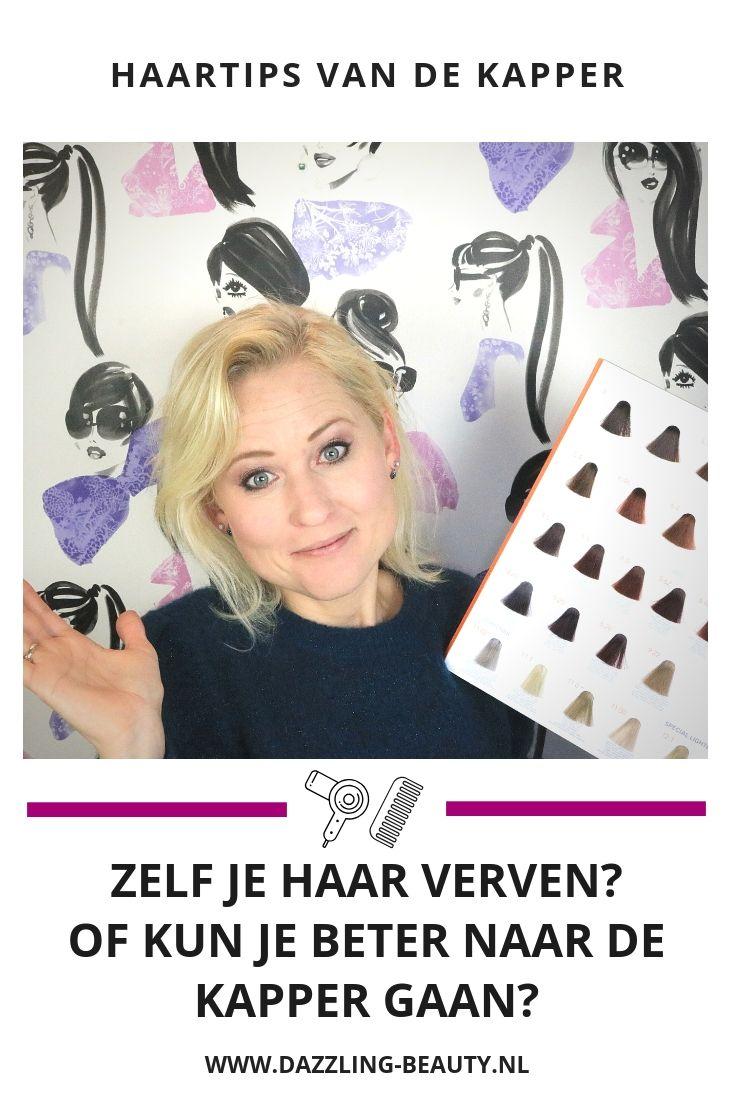 5edcb28bc2f Zelf je haar verven of ga je naar de kapper? | Dazzling Beauty Blog ...