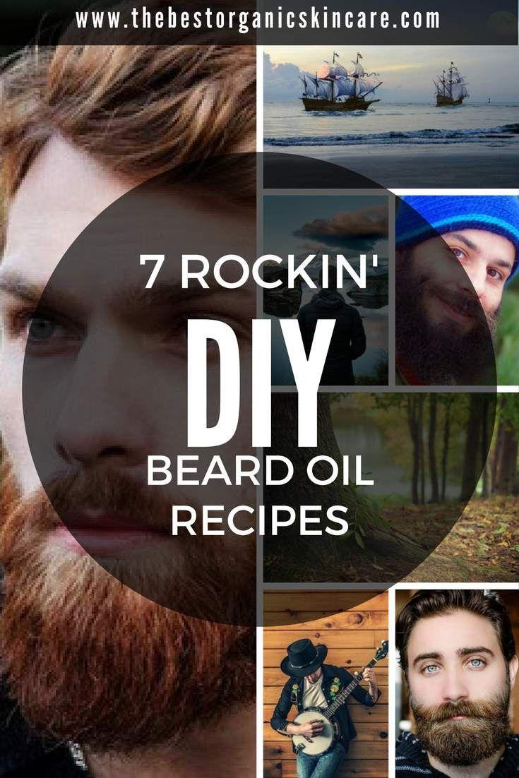 7 Rockin' DIY Beard Oil Recipes | The Best Organic Skin Care