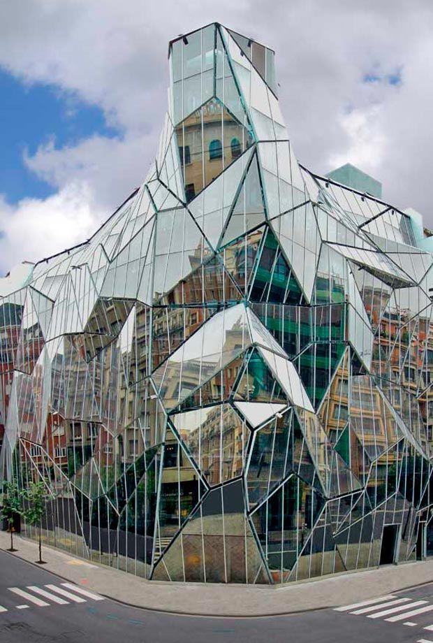17 best images about fascinating facades on pinterest - Arquitectos en bilbao ...
