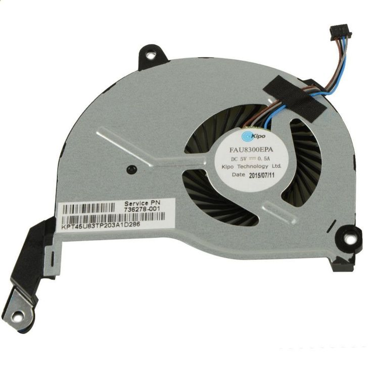 Notebook Computer Replacements Cpu Cooling Fans Fit For HP Pavilion 15-n000 Laptop