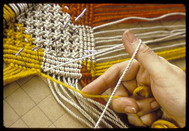 Macramé Techniques at the ACC Library | American Craft Council