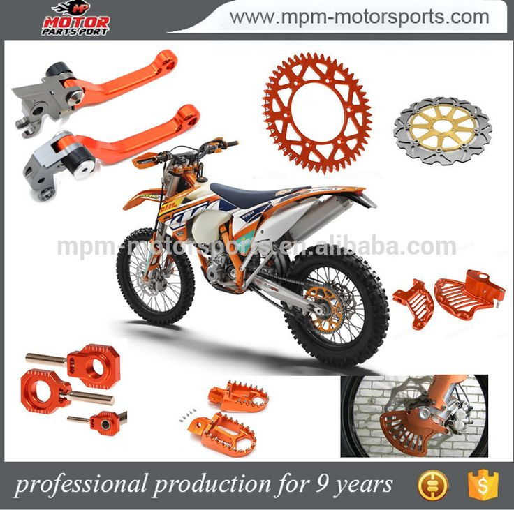 Motorcycle Spare parts Sprocket for KTM 125