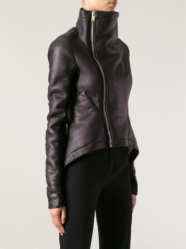 Rick Owens 'naska' Sheerling Jacket - Julian Fashion - Farfetch.com