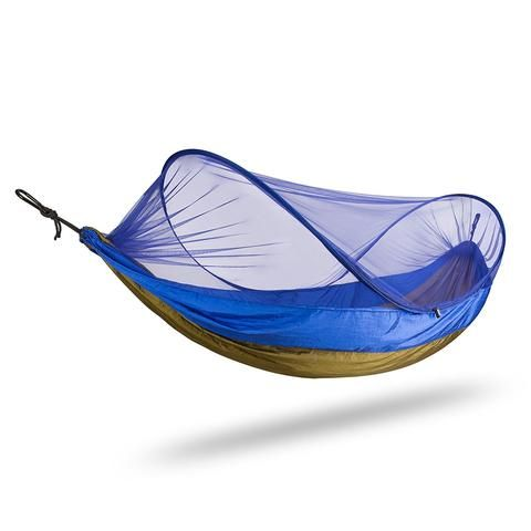 FiveJoy Camping Hammock with Mosquito Net (400lbs Capacity)