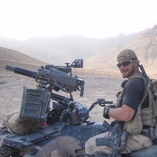 US Army Green Beret in Afghanistan. #boartooth