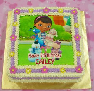 Jenn Cupcakes & Muffins: Doc McStuffins Image Cake