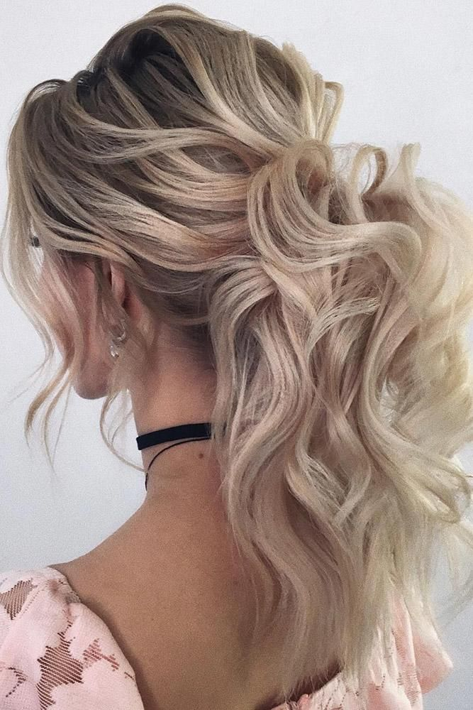 30 Wedding Hairstyles Ideas For Brides With Thin Hair Wedding Hairstyles For Thin Hair Medium B Ponytail Hairstyles Easy Prom Ponytail Hairstyles Hair Styles