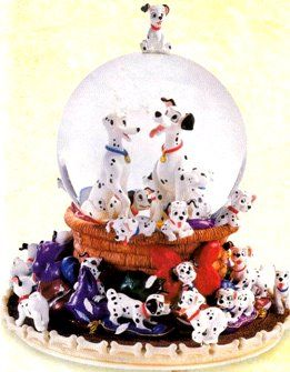 Disney 101 Dalmatians Snow Globe (This blog shows quite a few dalmatian snow globes. I would love to have one of these!)