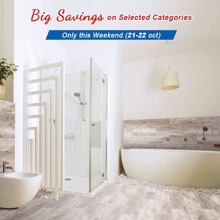 Big Savings on Selected Categories, Only this Weekend (21-22 oct) All Shower Stalls 40% Off,  All Kitchen Sinks 40% Off, All Lights Up to 30% Off.  8050 Blvd Taschereau, Local A, Brossard, QC J4X1C2 www.decoraport.ca  Tel: 1.888.861.7989